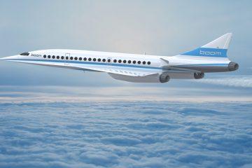 Supersonic-Jet Boom: In weniger als vier Stunden von New York nach London