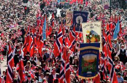 Nationalfeiertag am 17. Mai in Norwegen