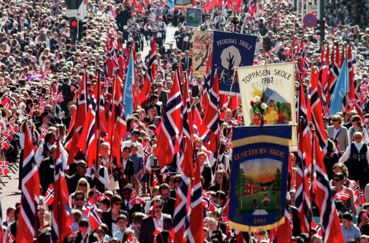 Nationalfeiertag am 17. Mai in Norwegen
