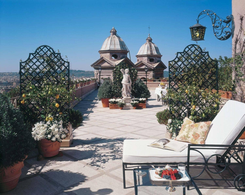 Hassler Hoyel Villa Medici Roma