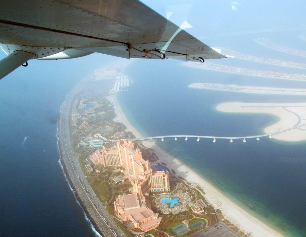 Hotel Atlantis von oben