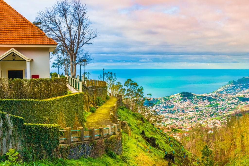 Blick auf Funchal auf Madeira