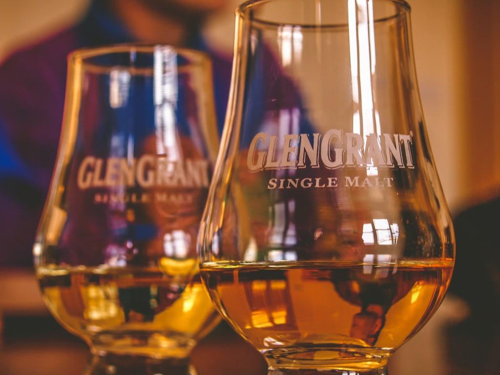 Glas Whisky Glengrant