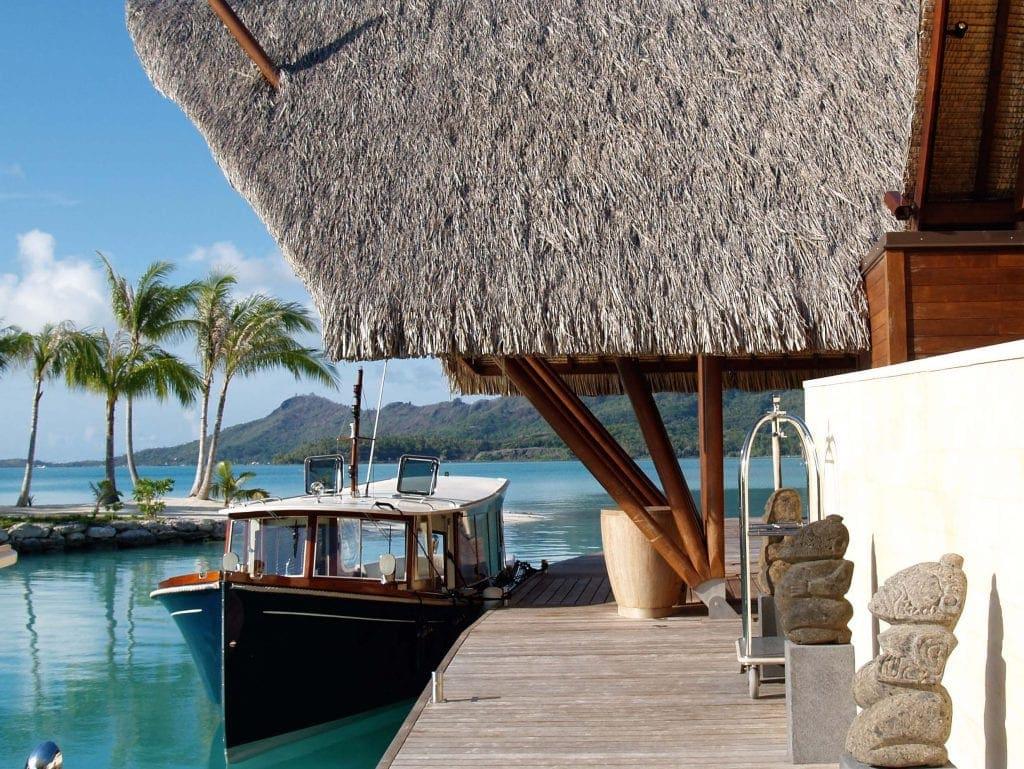 Lobby des Four Seasons Bora Bora