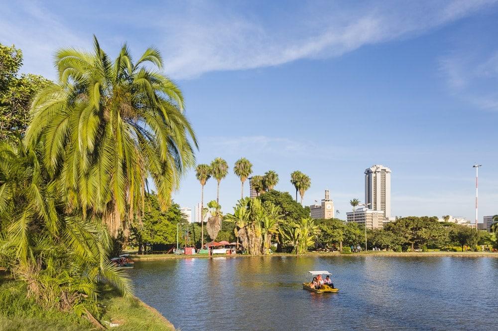 Uhuru-Park in Nairobi, Kenia