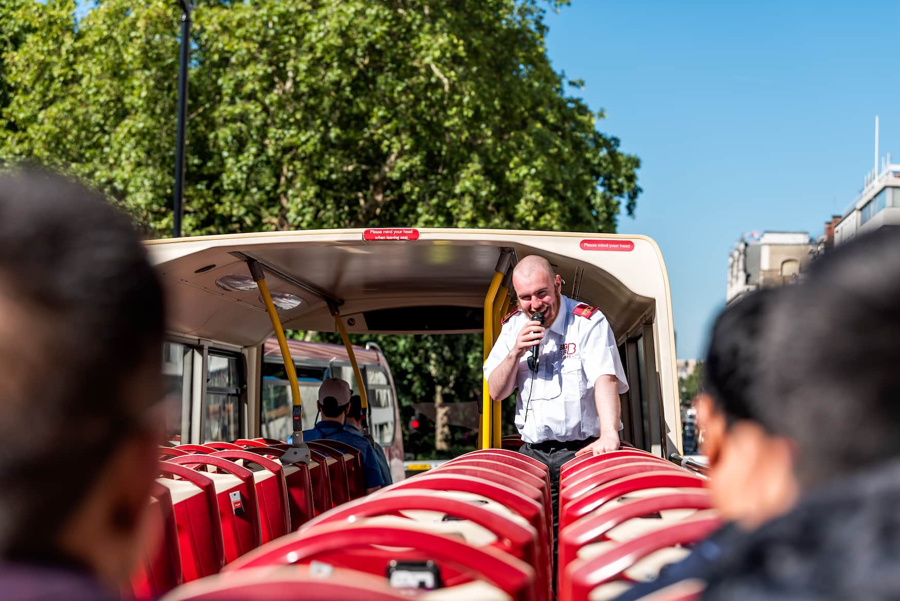 London mit Kindern: Sightseeing-Tour im roten Hop On Hop Off bus