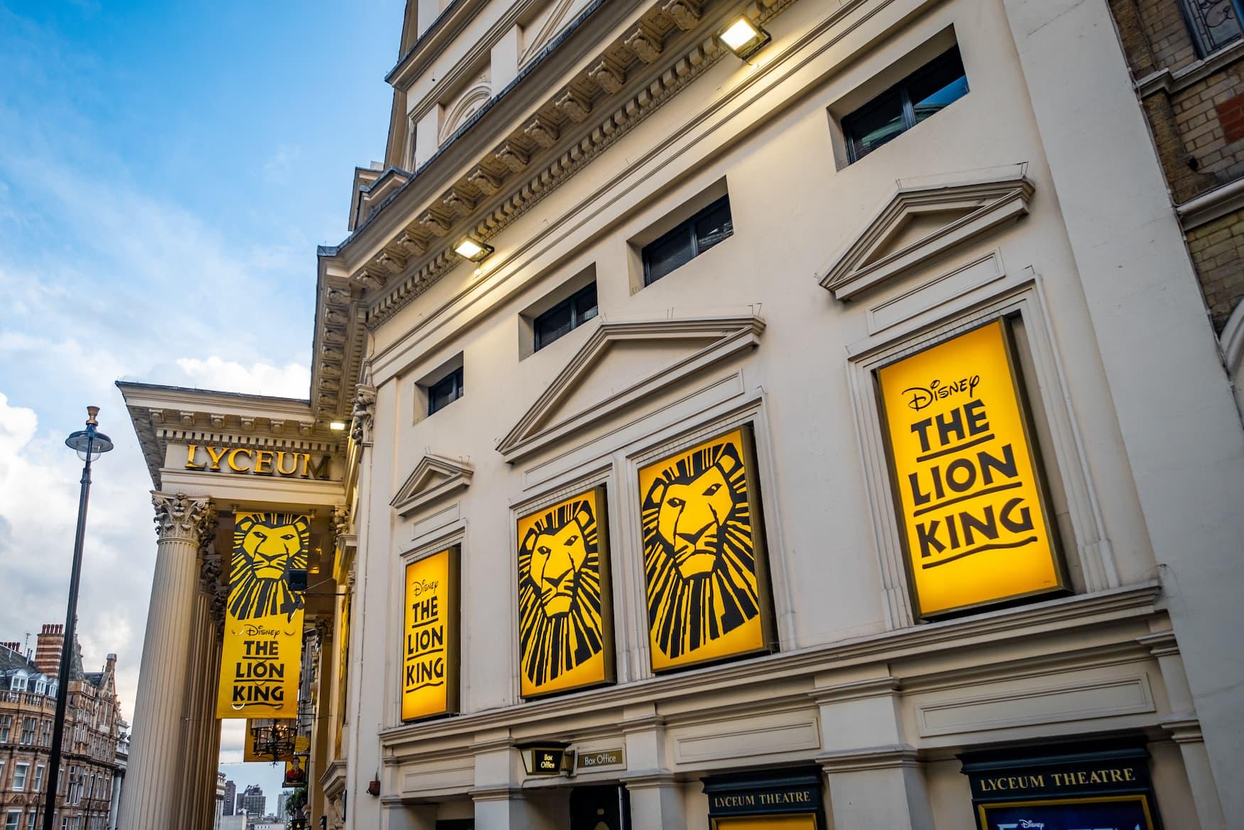 König der Löwen Musical in London, ein tolles Erlebnis für Kinder