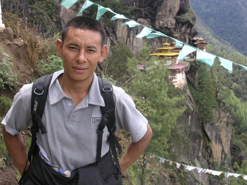 Guide Karma vor Tiger's Nest