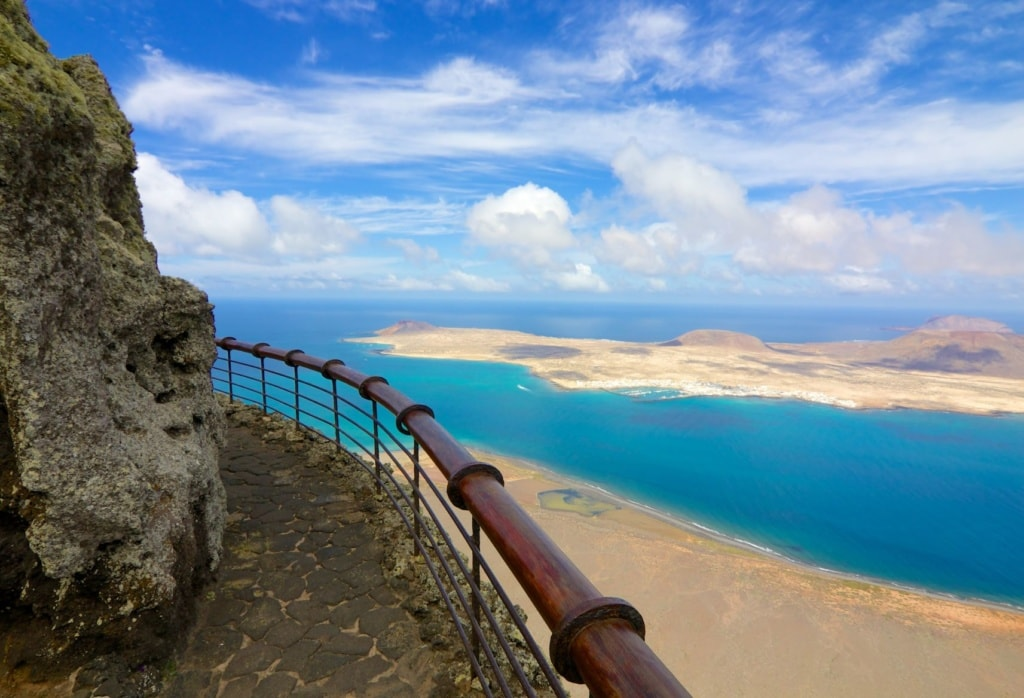 Graciosa from Mirador del Rio vista, Lanzarote,