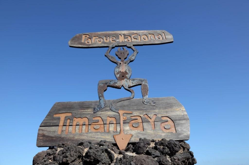 Timanfaya National Park auf Lanzarote