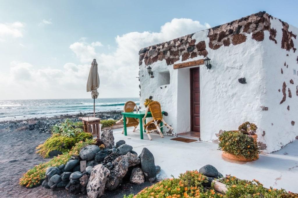 Typisches Haus auf Lanzarote