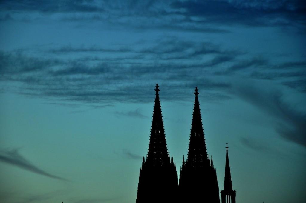 Zackentürme des Kölner Doms