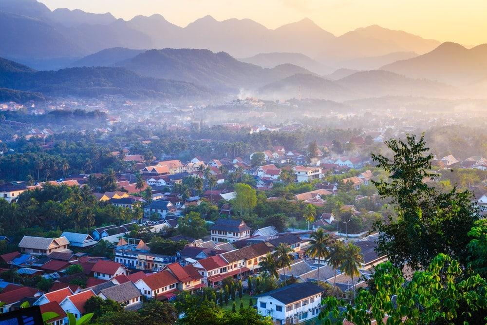 Laos: Königsstadt Luang Prabang