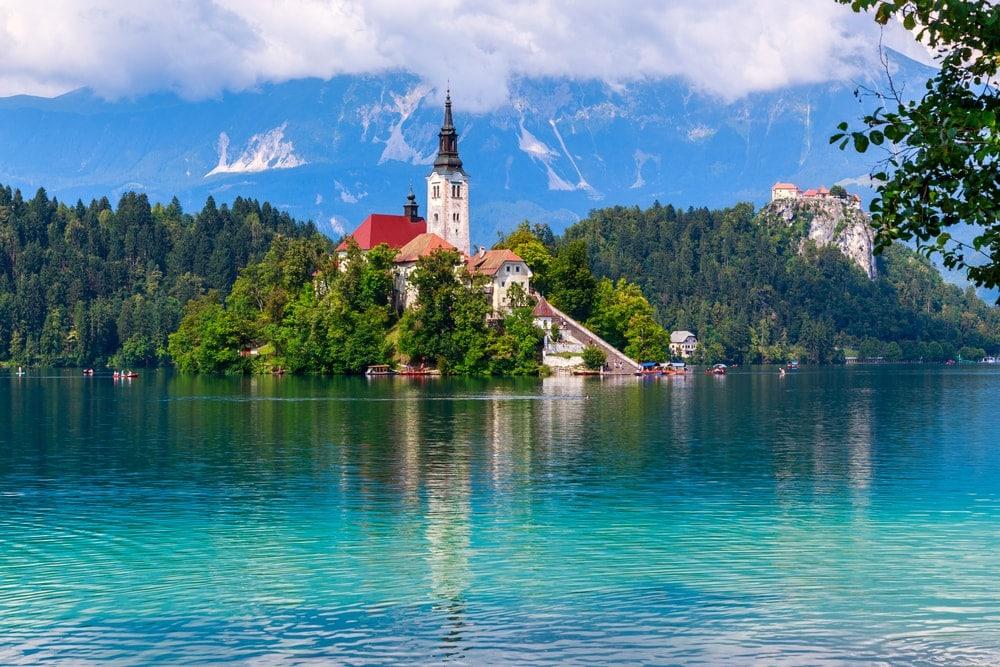 Bled Lake in Slowenien