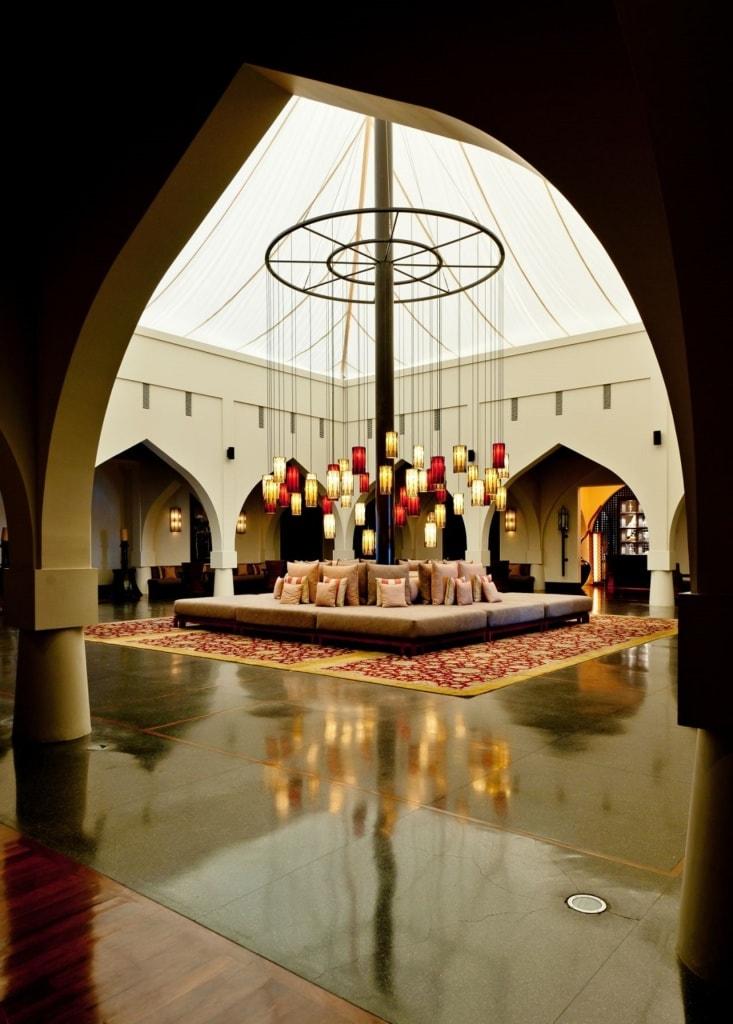 Lobby im The Chedi Muscat