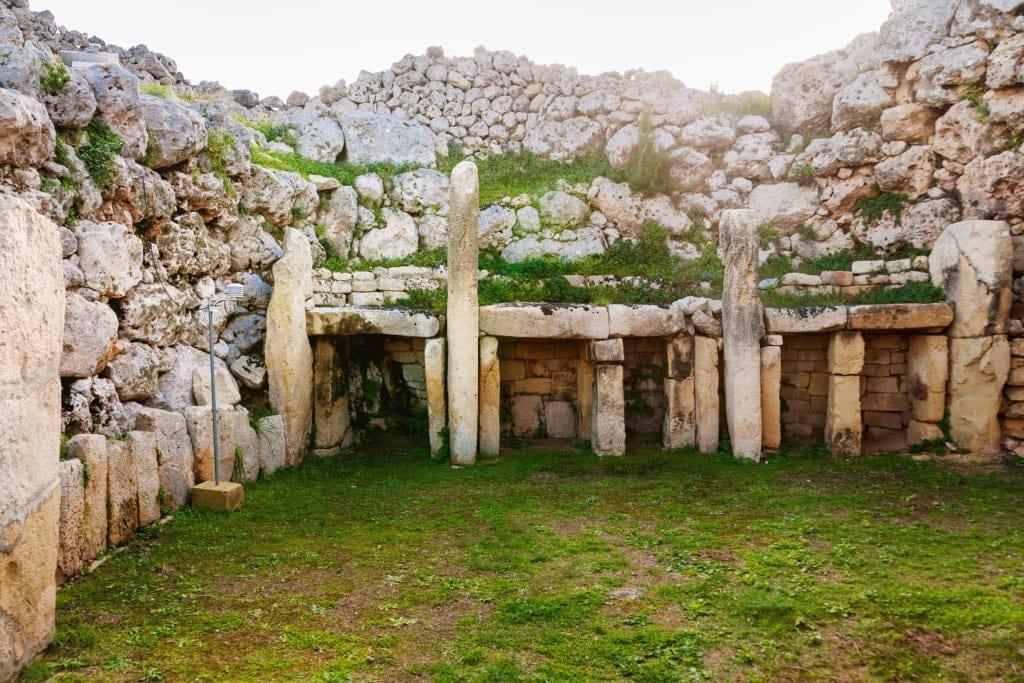 Ggantija Tempel auf der Insel Gozo