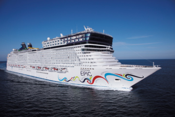 Norwegian Epic Steuerbord
