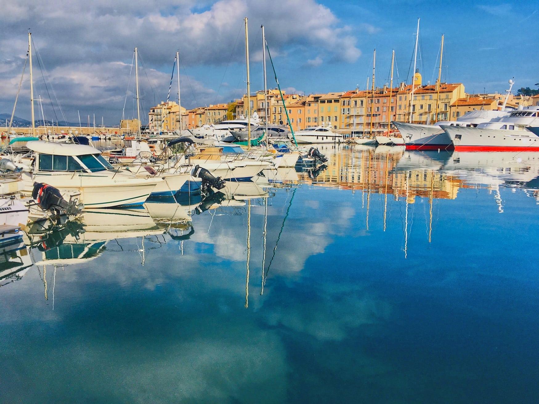 Saint Tropez Hafen