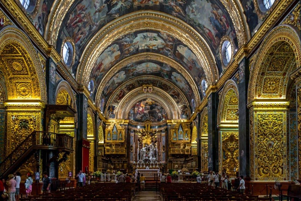 St. John's Co-Cathedral in Valletta auf Malta