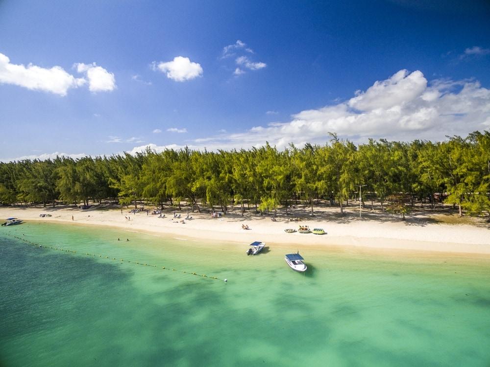 Mont-Choisy-Strand auf Mauritius