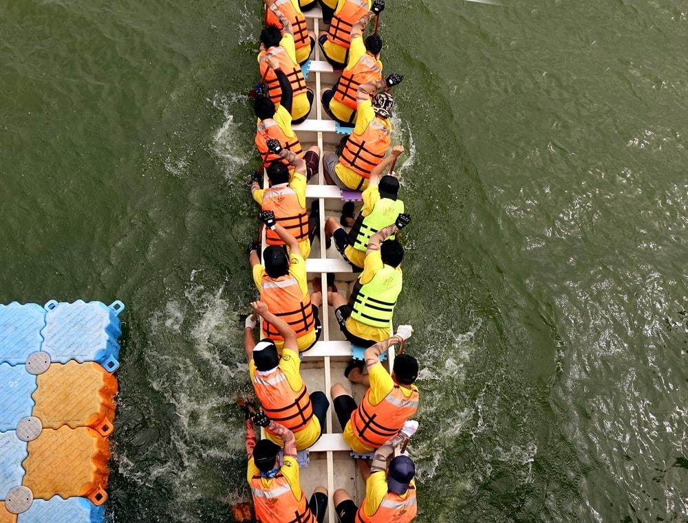drachenbootrennen in Taiwan