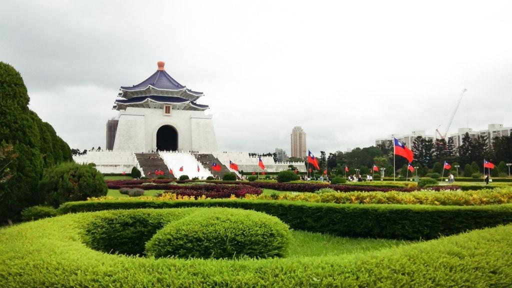 Chiang Kai-shek Memorial Hall in Taiwan