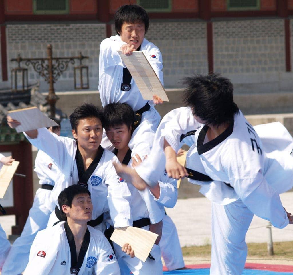 Beeindruckend: Taekwondo in Seoul