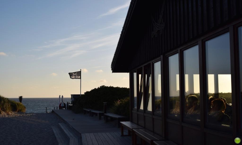 Die Strandbar Sansibar auf Sylt ist Promitreff Nummer 1.