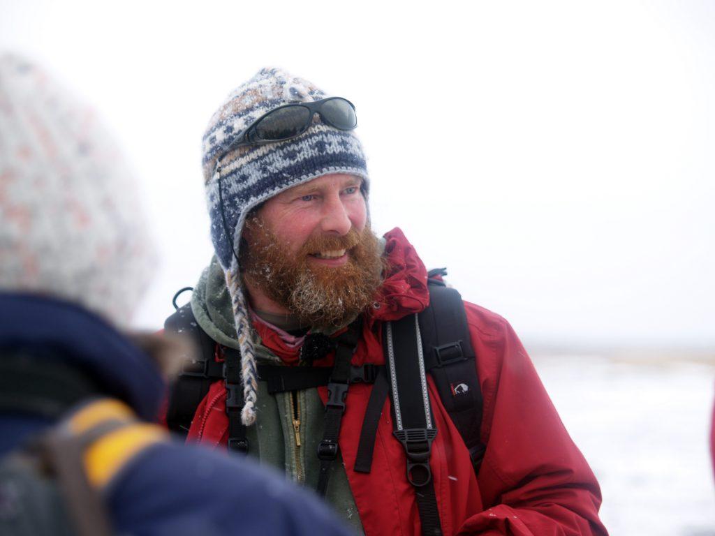 Terry, der unerschrockene Eisbären-Guide in Churchill