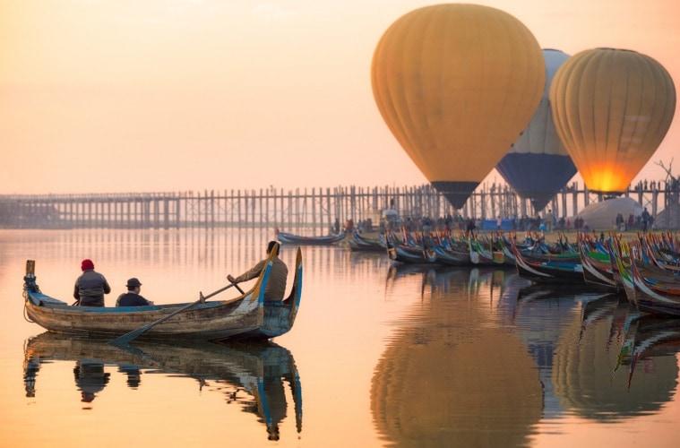 Reise nach Mandalay: Romantik am Fluss