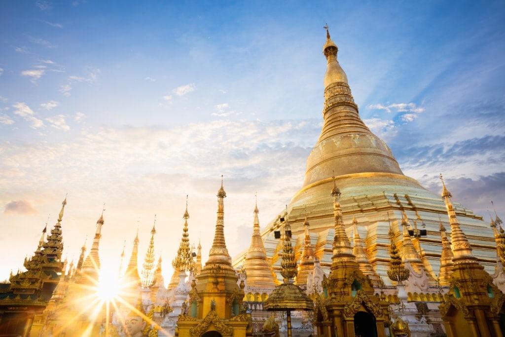 Reise nach Mandalay: Shwedagon-Pagode