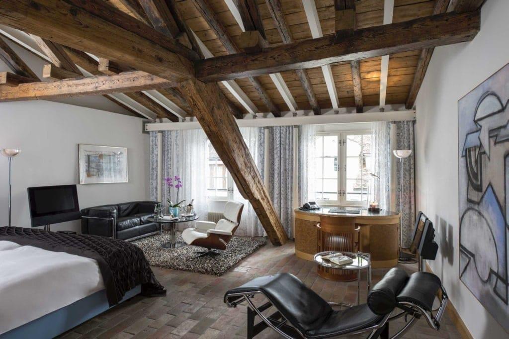 Zimmer im Hotel Widder, Zürich