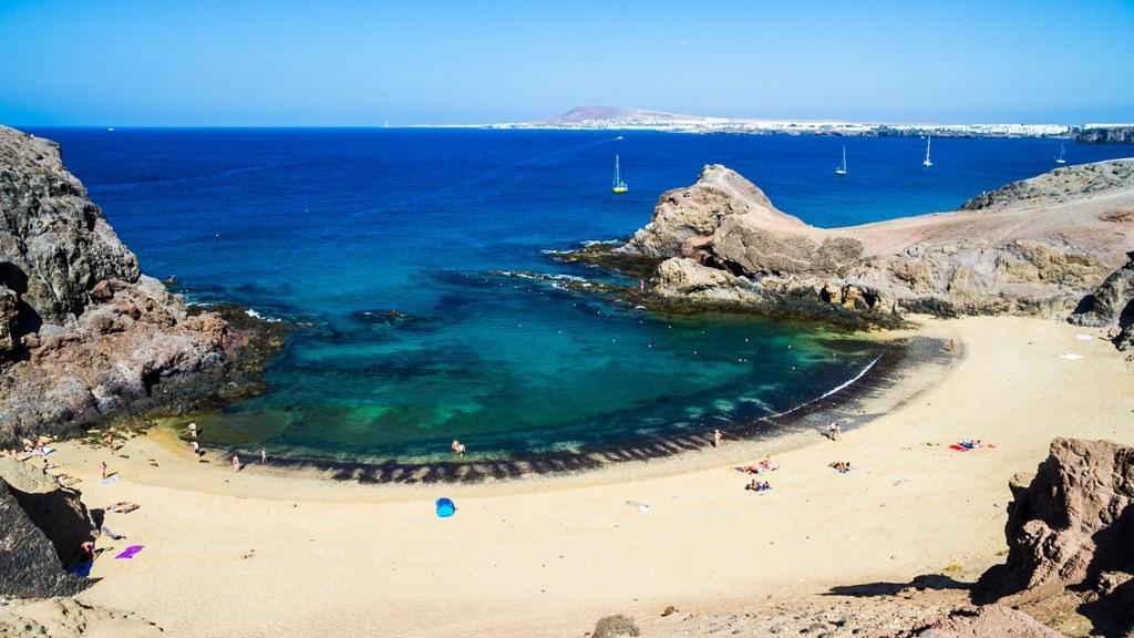 Strand-Geheimtipps auf Lanzarote: Playas de Papagayo
