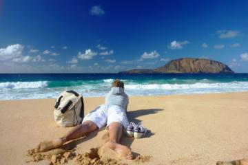Strand-Geheimtipps auf Lanzarote: Playa de las Conchas