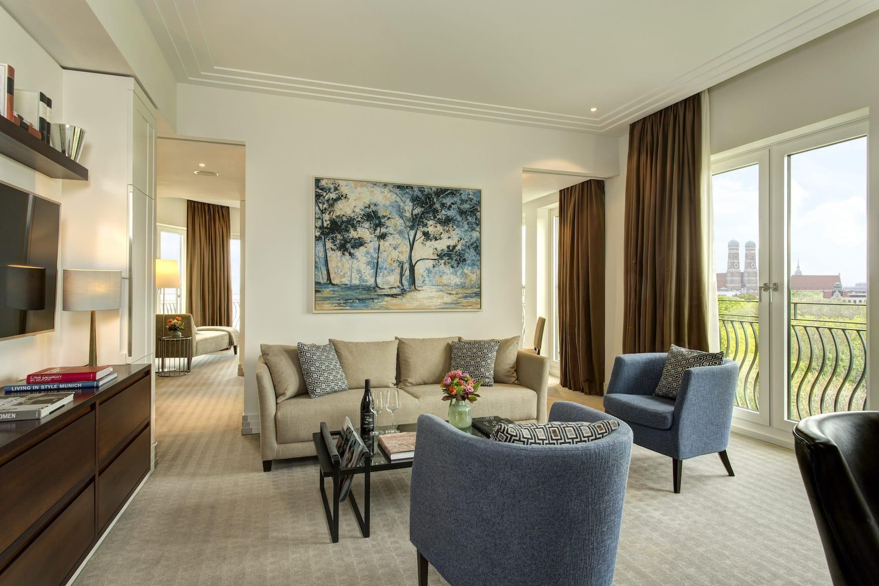 Executive Suite in einem Grandhotel in München
