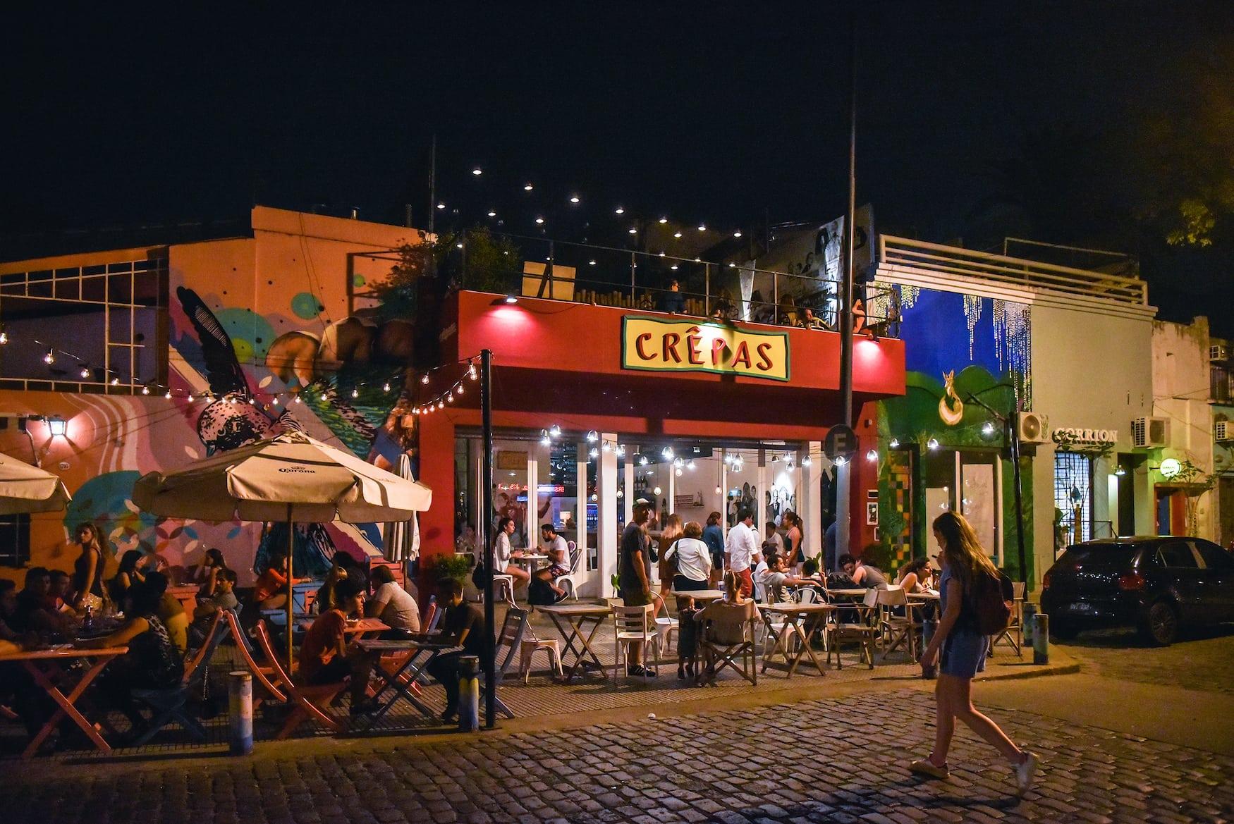 Bar in Ausgehviertel in Buenos Aires