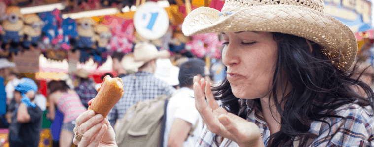Cowgirl in Calgary Stampede