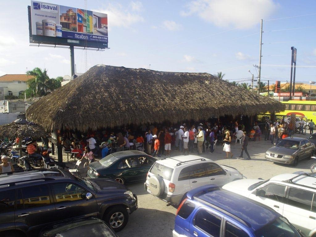 Car Wash an der Punta Cana