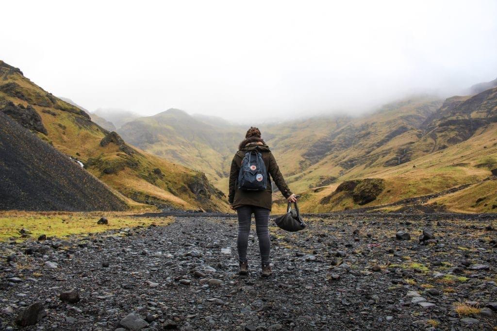 Tanu auf dem Vulkan? Eher Gang auf den Vulkan, der es schaffte den Flugverkehr in Europa lahmzulegen: der Eyjafjallajökull auf Island