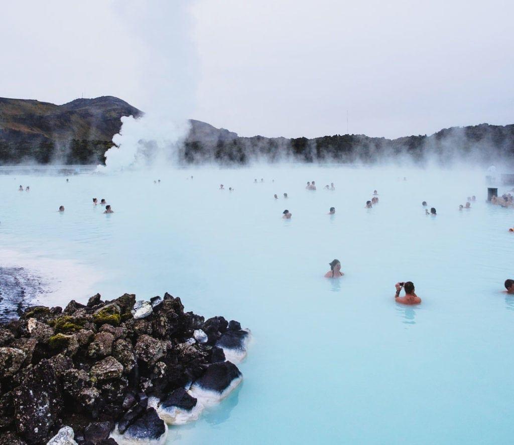 Die Blaue Lagune auf Island