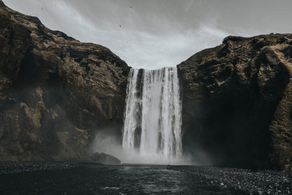 Ein land für alle Fälle: island hat rund 450 Wasserfälle