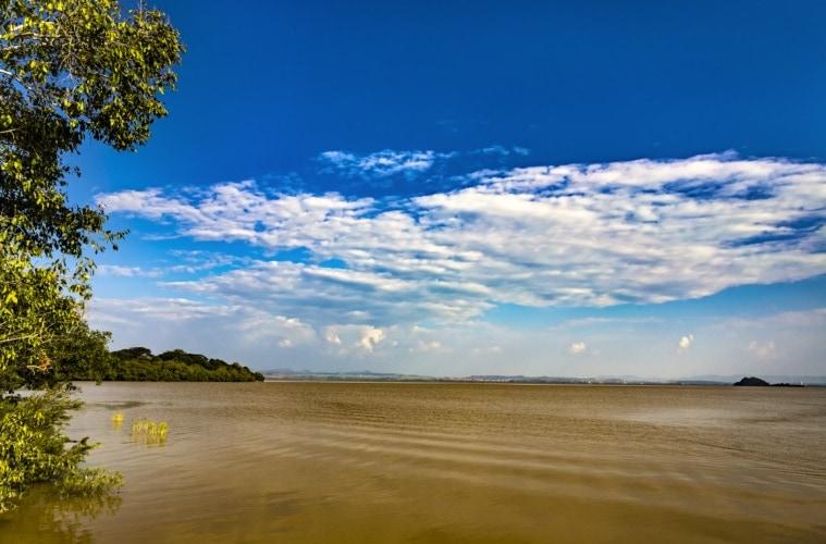 Lake Tana in Äthiopien
