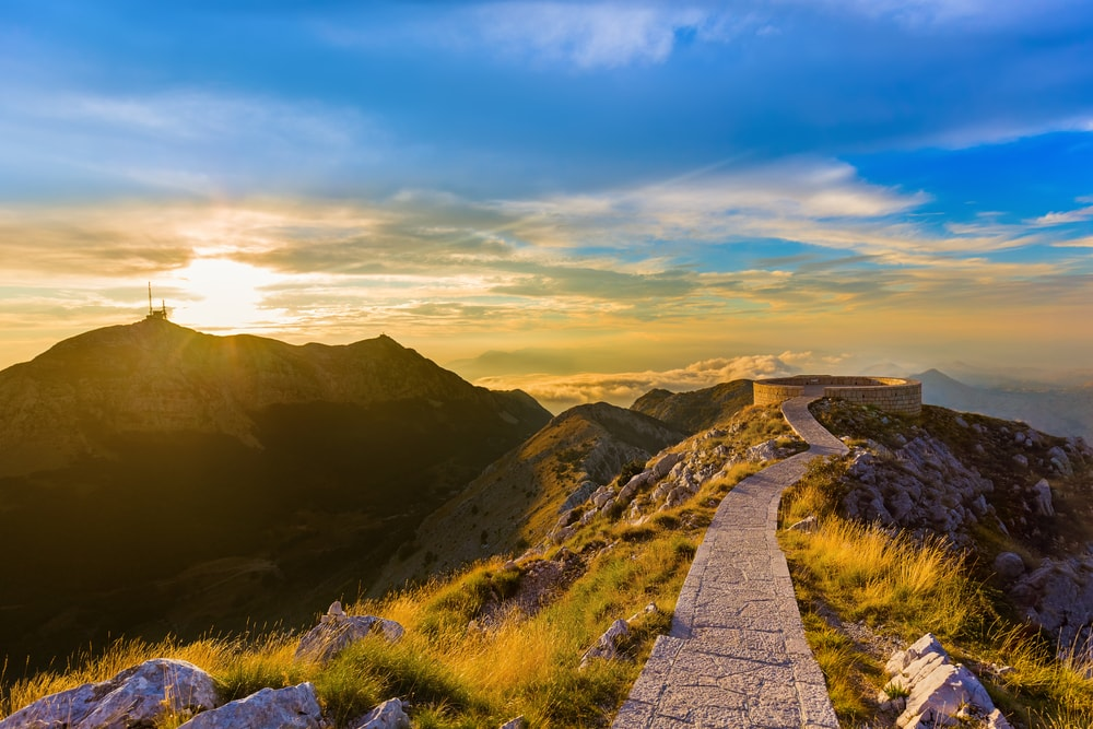 Lovcen-Gebirge in Montenegro