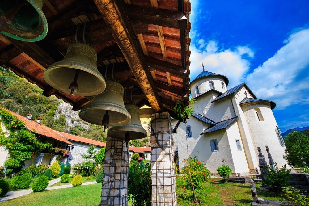 Kloster Moraca in Montenegro
