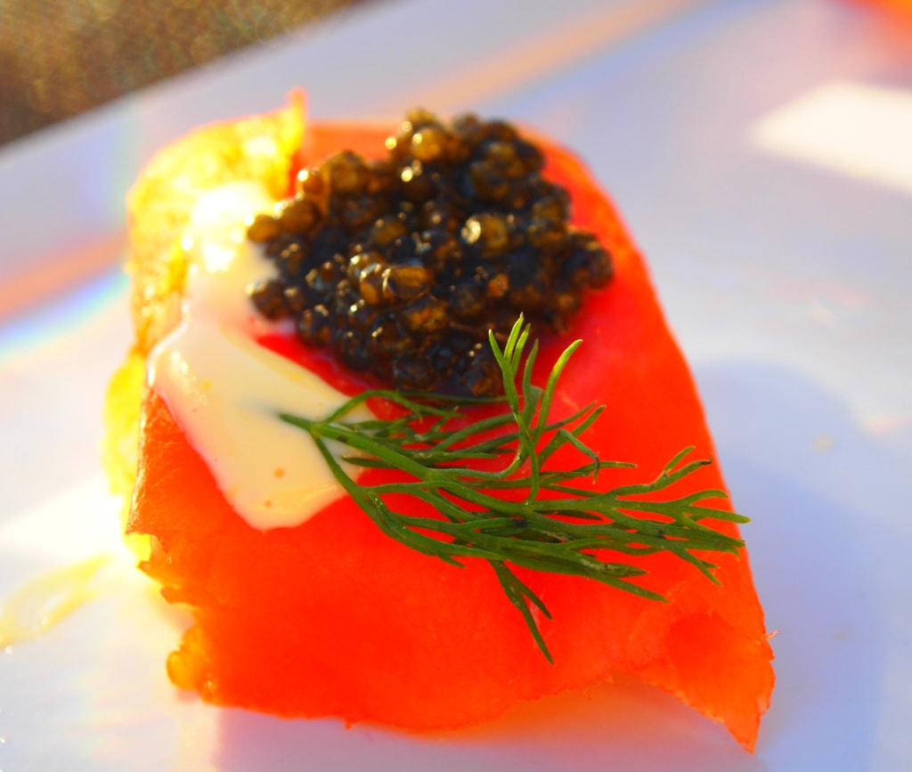 Kaviar aus British Columbia