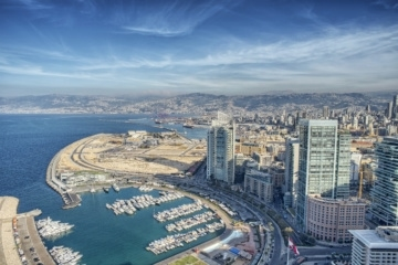 Skyline von Beirut