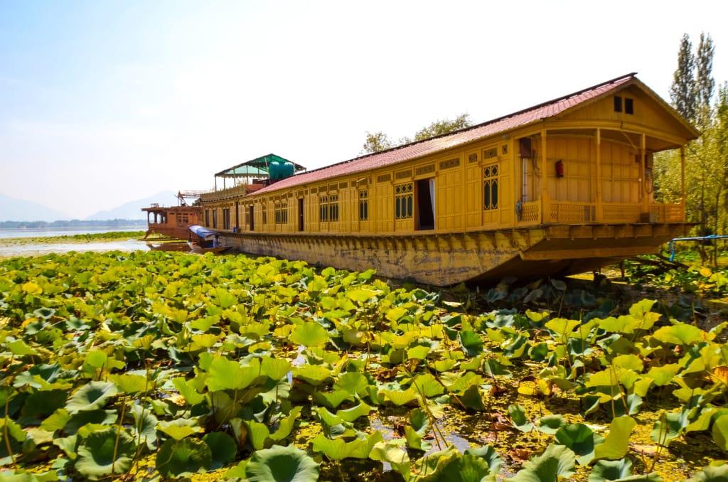 Hausboot in Kaschmir, Indien