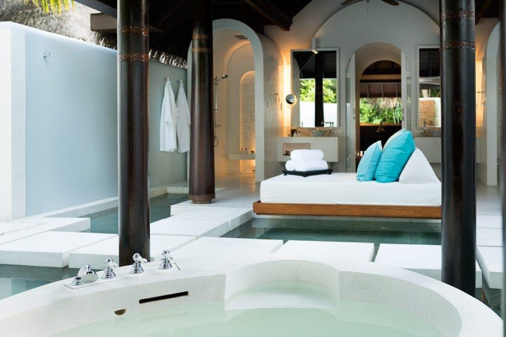 Zimmer im Anantara Kihavah Villas