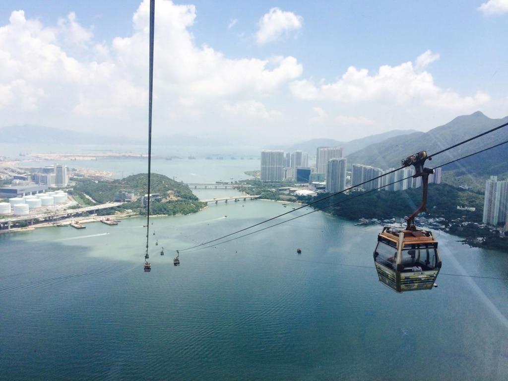 Bei einem Kurztrip nach Hongkong sollte man unbedingt hoch hinaus!