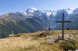 Wanderrouten im Vinschgau: oberhalb der Furkelhütte